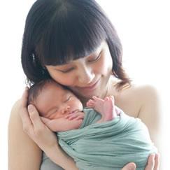 新生児写真ニューボーンフォトの出張撮影